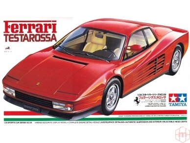 Tamiya - Ferrari Testarossa, Mastelis: 1/24, 24059