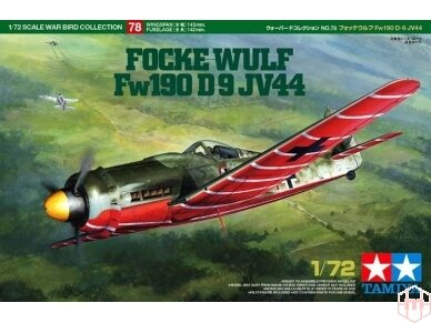 Tamiya - Focke-Wulf Fw190 D-9 JV44, Mastelis: 1/72, 60778