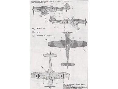 Tamiya - Focke-Wulf Fw190 D9, Mastelis: 1/72, 60751 6