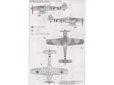Tamiya - Focke-Wulf Fw190 D9, Mastelis: 1/72, 60751 7