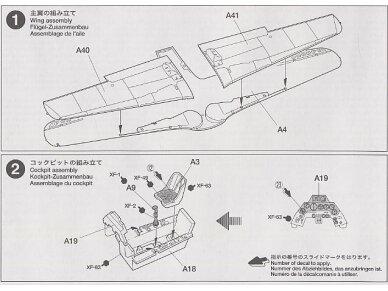 Tamiya - Focke-Wulf Fw190 D9, Mastelis: 1/72, 60751 8
