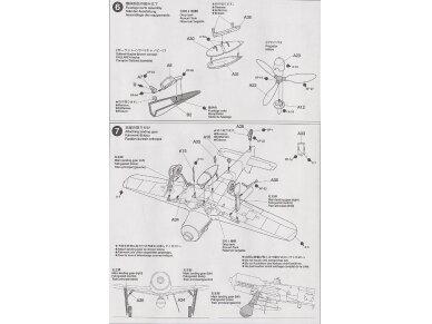 Tamiya - Focke-Wulf Fw190 D9, Mastelis: 1/72, 60751 10