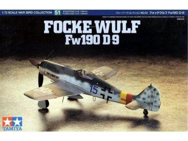Tamiya - Focke-Wulf Fw190 D9, Mastelis: 1/72, 60751