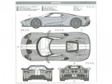 Tamiya - Ford GT, Mastelis: 1/24, 24346 18