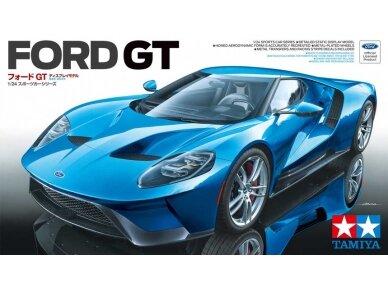 Tamiya - Ford GT, Mastelis: 1/24, 24346