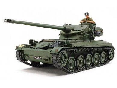 Tamiya - French Light Tank AMX-13, Mastelis: 1/35, 35349 2