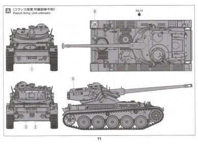 Tamiya - French Light Tank AMX-13, Mastelis: 1/35, 35349 11