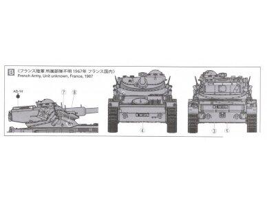 Tamiya - French Light Tank AMX-13, Mastelis: 1/35, 35349 12