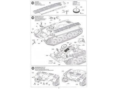 Tamiya - French Light Tank AMX-13, Mastelis: 1/35, 35349 17