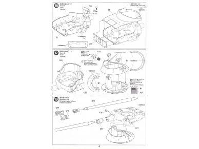 Tamiya - French Light Tank AMX-13, Mastelis: 1/35, 35349 18