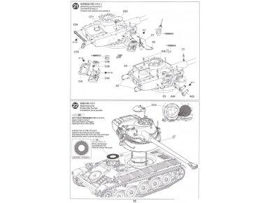 Tamiya - French Light Tank AMX-13, Mastelis: 1/35, 35349 20