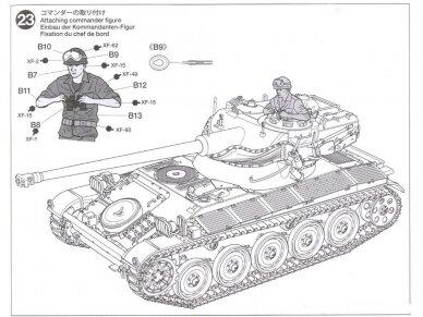 Tamiya - French Light Tank AMX-13, Mastelis: 1/35, 35349 21