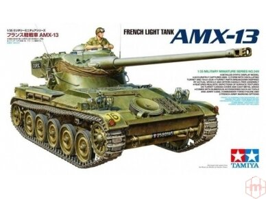 Tamiya - French Light Tank AMX-13, Mastelis: 1/35, 35349