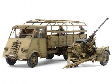 Tamiya - German 3.5t truck AHN w/3.7cm Flak 37 AA Gun, Mastelis: 1/35, 32410 2