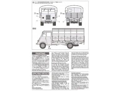 Tamiya - German 3.5t truck AHN w/3.7cm Flak 37 AA Gun, Mastelis: 1/35, 32410 12