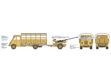 Tamiya - German 3.5t truck AHN w/3.7cm Flak 37 AA Gun, Mastelis: 1/35, 32410 3