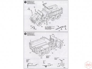Tamiya - German 6x4 Truck Krupp Protze L2H143, Scale: 1/48, 32534 11