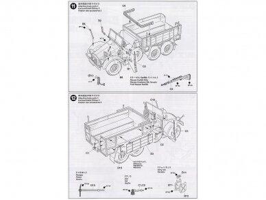 Tamiya - German 6x4 Truck Krupp Protze L2H143, Mastelis: 1/48, 32534 11