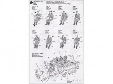 Tamiya - German 6x4 Truck Krupp Protze L2H143, Mastelis: 1/48, 32534 12