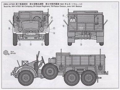 Tamiya - German 6x4 Truck Krupp Protze L2H143, Scale: 1/48, 32534 6