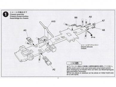 Tamiya - German 6x4 Truck Krupp Protze L2H143, Mastelis: 1/48, 32534 7