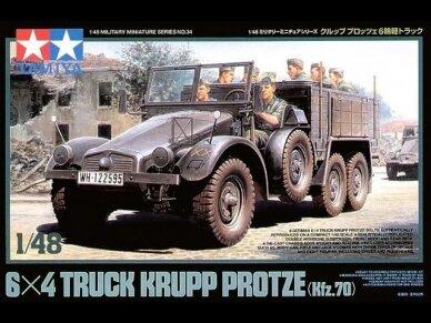 Tamiya - German 6x4 Truck Krupp Protze L2H143, Scale: 1/48, 32534