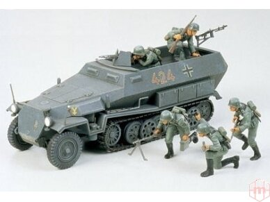 Tamiya - German Hanomag SdKfz 251/1, Mastelis: 1/35, 35020 2