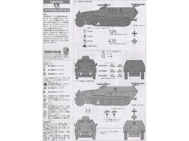 Tamiya - German Hanomag SdKfz 251/1, Mastelis: 1/35, 35020 6