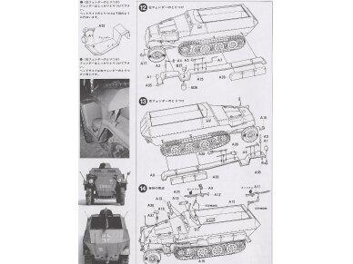 Tamiya - German Hanomag SdKfz 251/1, Mastelis: 1/35, 35020 10