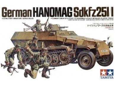 Tamiya - German Hanomag SdKfz 251/1, Mastelis: 1/35, 35020