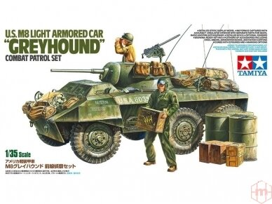 "Tamiya - US M8 Light Armored Car ""Greyhound"", 1/35, 25196"