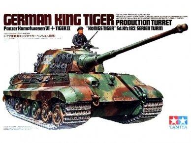 Tamiya - German King Tiger Production Turret, Scale: 1/35, 35164