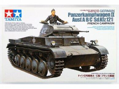 Tamiya - German Panzerkampfwagen II Ausf.A/B/C (Sd.Kfz.121) (French Campaign), Mastelis: 1/35, 35292