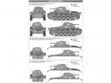 Tamiya - German Panzerkampfwagen II Ausf.A/B/C (Sd.Kfz.121) (French Campaign), Mastelis: 1/35, 35292 3