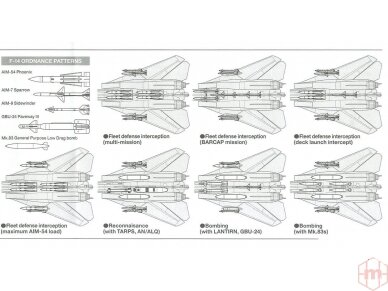Tamiya - Grumman F-14A Tomcat, Mastelis: 1/48, 61114 11