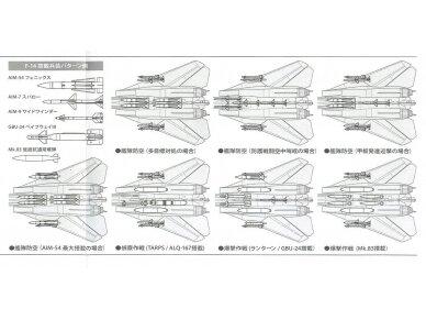Tamiya - Grumman F-14A Tomcat, Mastelis: 1/48, 61114 13