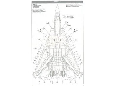 Tamiya - Grumman F-14A Tomcat, Mastelis: 1/48, 61114 24