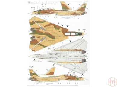 Tamiya - Grumman F-14A Tomcat, Mastelis: 1/48, 61114 29