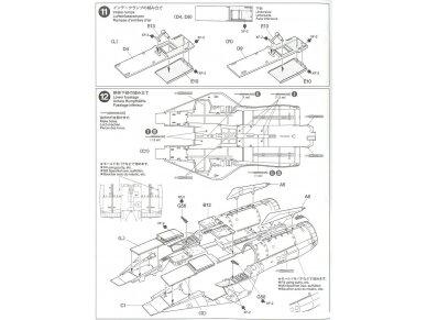 Tamiya - Grumman F-14A Tomcat, Mastelis: 1/48, 61114 34