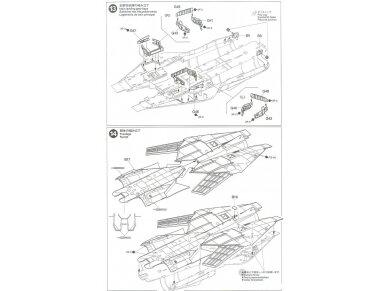 Tamiya - Grumman F-14A Tomcat, Mastelis: 1/48, 61114 35