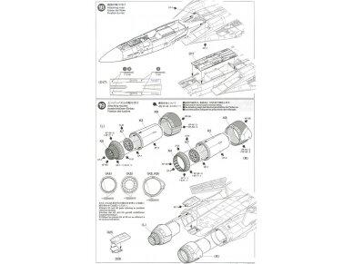 Tamiya - Grumman F-14A Tomcat, Mastelis: 1/48, 61114 37