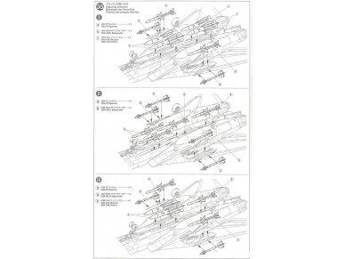 Tamiya - Grumman F-14A Tomcat, Mastelis: 1/48, 61114 44