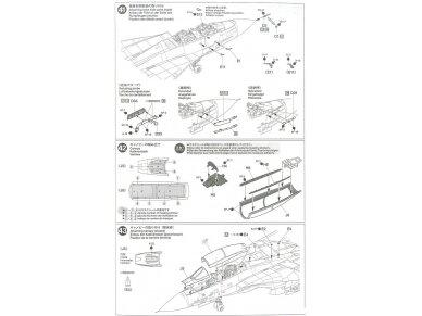 Tamiya - Grumman F-14A Tomcat, Mastelis: 1/48, 61114 47