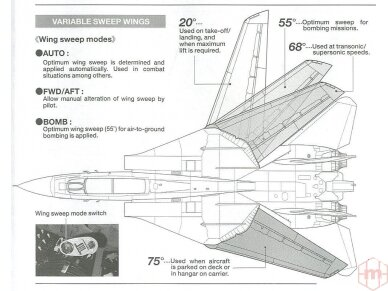 Tamiya - Grumman F-14A Tomcat, Mastelis: 1/48, 61114 10