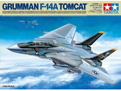 Tamiya - Grumman F-14A Tomcat, Mastelis: 1/48, 61114
