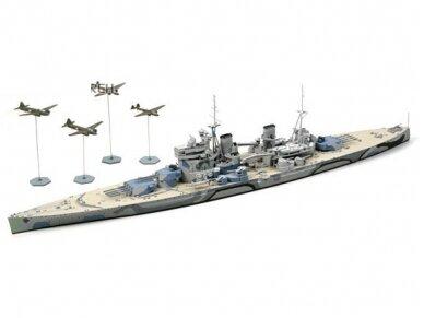 Tamiya - HMS Prince Of Wales, Mastelis: 1/700, 31615 3