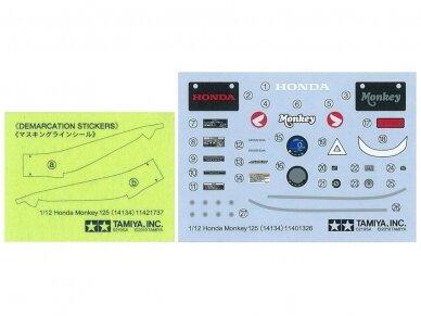 Tamiya - Honda Monkey 125, Scale: 1/12, 14134 9