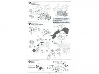 Tamiya - Honda Monkey 125, Mastelis: 1/12, 14134 20