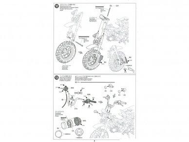 Tamiya - Honda Monkey 125, Mastelis: 1/12, 14134 23
