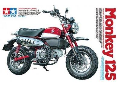 Tamiya - Honda Monkey 125, Mastelis: 1/12, 14134